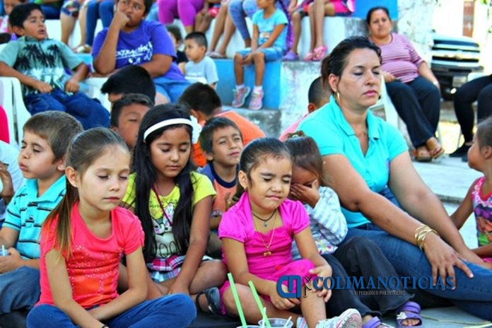 DIF Tecomán promotes meditation in childhood - colimanoticias 1