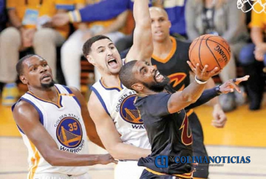 Irving y James mostraron su mejor versión y Cavaliers arrollan a Warriors